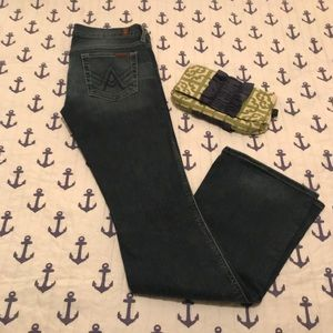 7 for all Mankind A Pocket Jeans - size 28 Flare